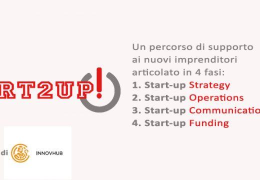 Start 2 up! selezionato da Innovhub