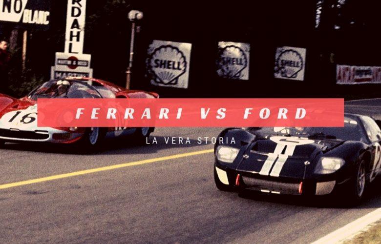 Le Mans 66: Ferrari VS Ford, la vera storia