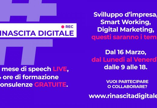 idea-re partecipa a rinascita digitale