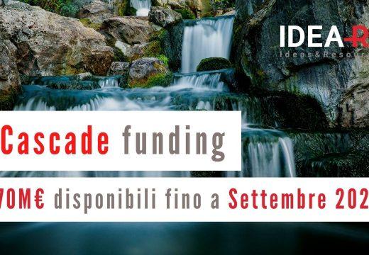 Cascade funding – Bandi Maggio 2021 Settembre 2021